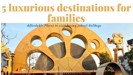 5 destinations for family holidays