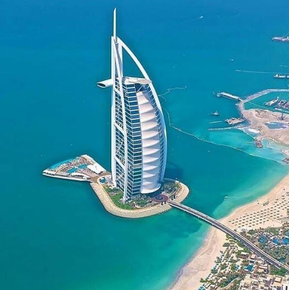 Dubai bird's eye view