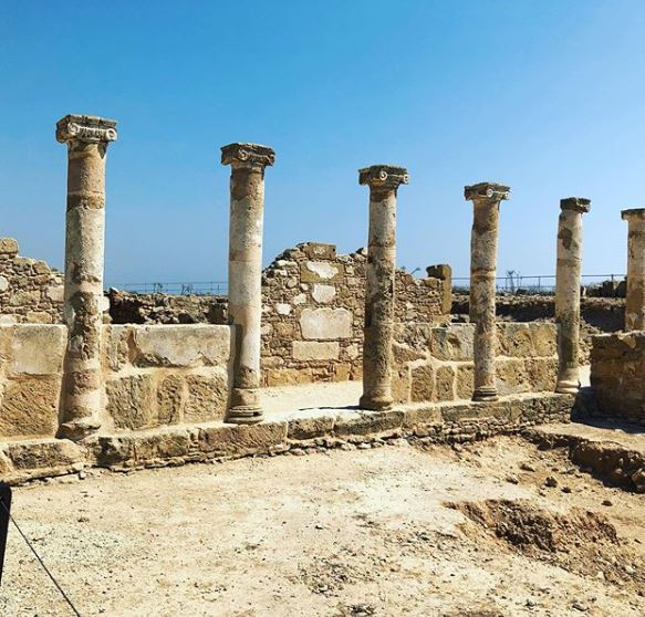 All-Inclusive Cyprus Holidays - pillars from The House of Theseus