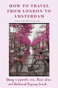 How to Travel from London to Amsterdam
