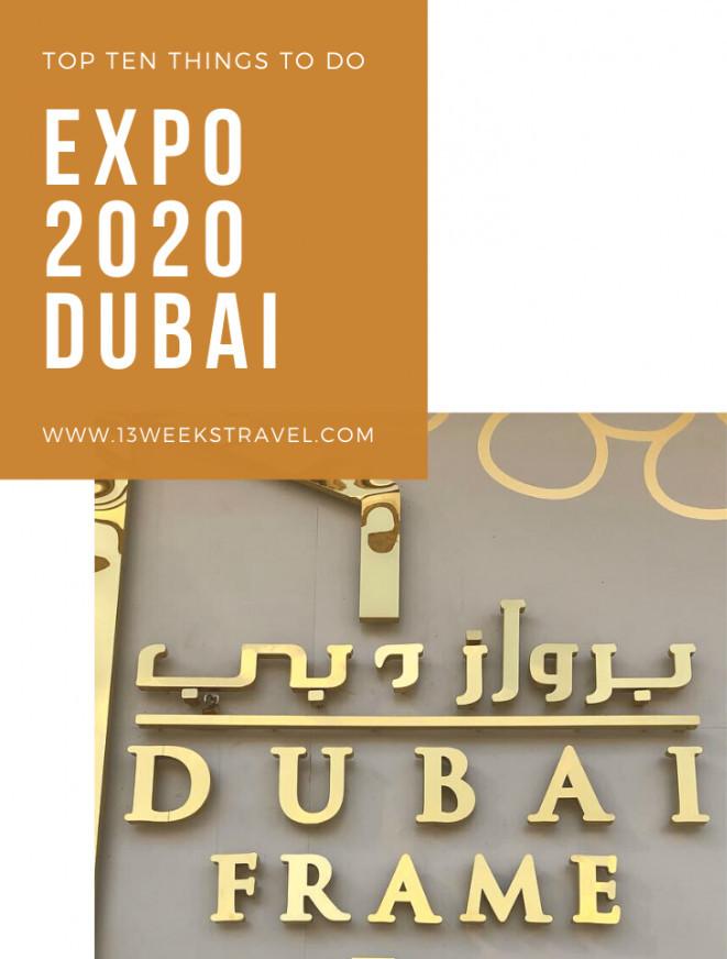 Dubai Frame by 13weekstravel