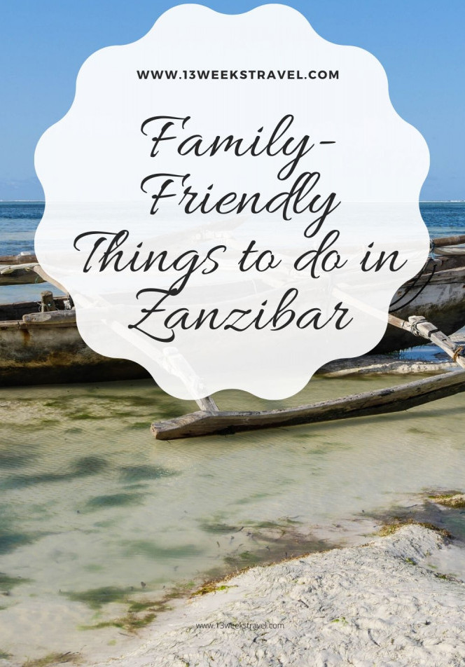Family-friendly things to do in Zanzibar