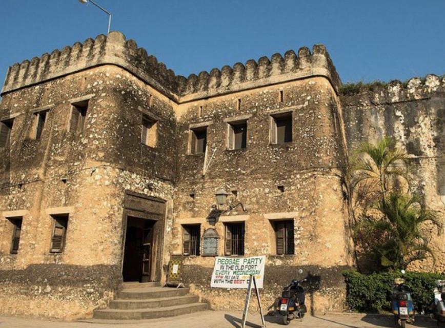 The Old fort at Zanzibar