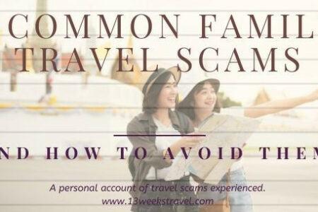 13 Weeks Travel Blog post