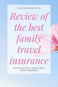 UK's best family travel insurance