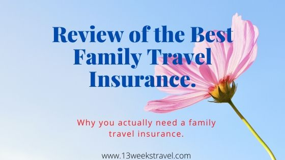 A Review of UK's Finest Family Travel Insurance