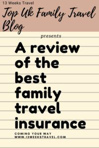 Review of the best family travel insurance