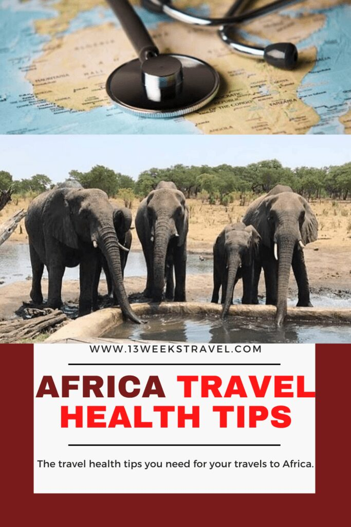 Africa Travel Health Tips