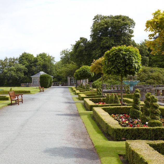 Gardens of The Gleneagles Hotel_13 Weeks Travel_Best luxury family holiday resorts UK