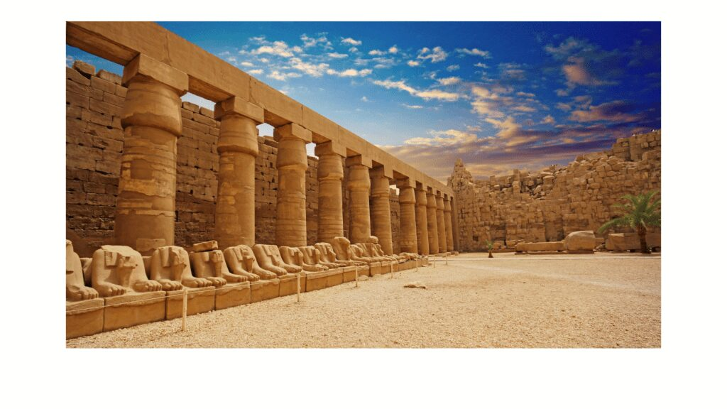 How to Travel to Africa Egyptian Statues