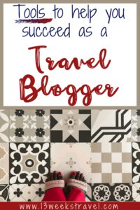 How to be a travel blogger | feet on Turkish tiles