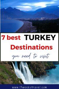 the best turkey destinations