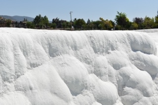 Cotton Castle at the Thermal Pools of Pamukkale