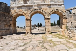 The Historical city of Hierapolis Holy City