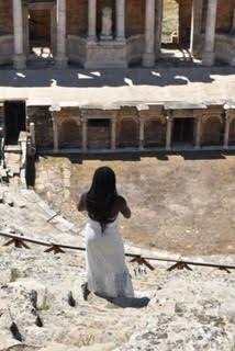 Black Lady at Hierapolis Theatre
