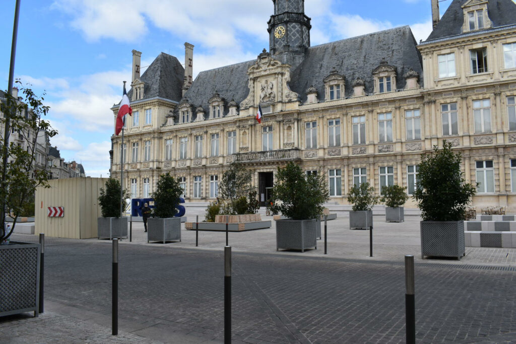 Road Trip from London to France Reims