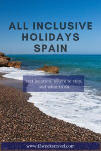 All Inclusive Holidays Spain Pin