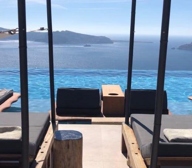 Cabo Tagoo. Santorini Hotels with Infinity Pools   13 Weeks Travel