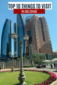 Things to Visit in Abu Dhabi |13 Weeks Travel_